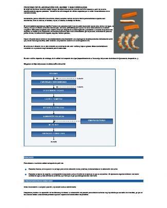 Proceso De Elaboración Del Surimi Y Sus Derivados