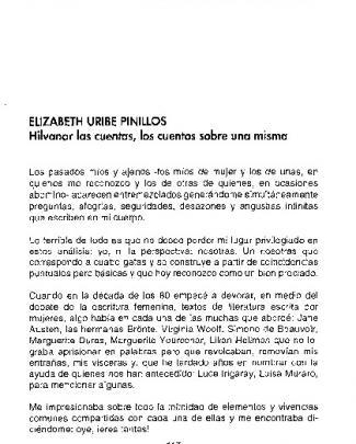 Elizabeth Urlbe Pinillos Hilvanar Las Cuentas, 10s