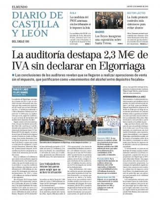La Auditoría Destapa 2,3 M€ De Iva Sin Declarar En Elgorriaga