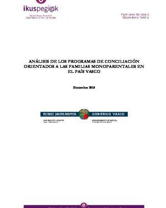 Análisis De Los Programas De Conciliación Orientados
