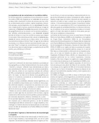 Metodología Atlas Nº 1