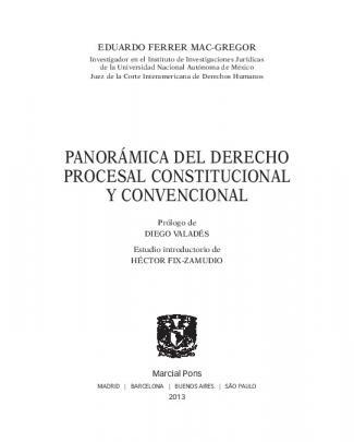 Panorámica Del Derecho Procesal Constitucional Y