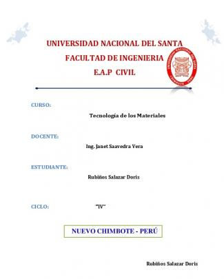 Universidad Nacional Del Santa Facultad De Ingenieria Eap Civil