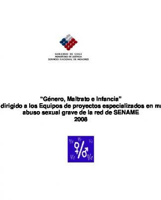 Género, Maltrato E Infancia - Bienestar Y Protección Infantil