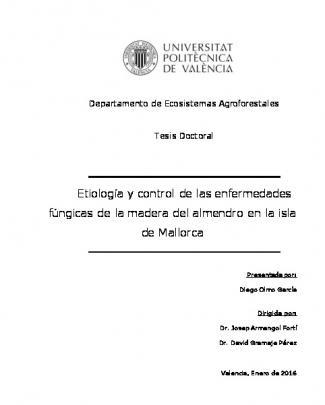Etiología Y Control De Las Enfermedades Fúngicas De