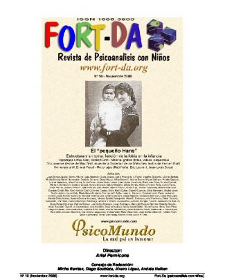 Fort-da (revista De Psicoanálisis Con Niños) Nº 10