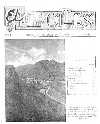 El Ripolles 19540814 - Arxiu Comarcal Del Ripollès