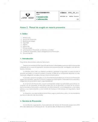 Anexo 2. Manual De Acogida En Materia Preventiva