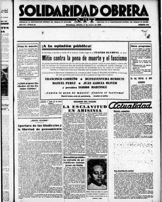 1i Mitin Contra La Pena De Muerte Y El Fascismo I