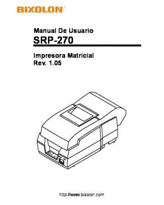 Srp-270 - Bixolon