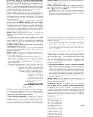 Reguladores Y Accesorios