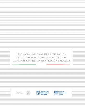 Programa Nacional De Capacitación En Cuidados Paliativos