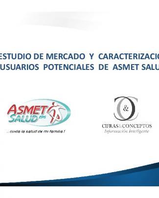 Estudio - Asmet Salud Eps