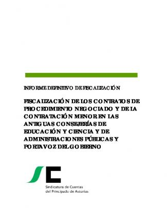Fiscalización De Los Contratos De Procedimiento