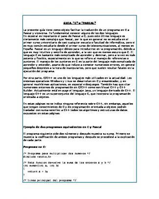 Pascal - Cei Ucab