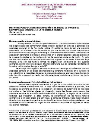 Anales De Historia Antigua, Medieval Y Moderna
