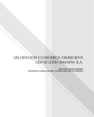 Valoración Económica Financiera Cervecería Bavaria S.a.