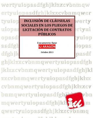 Inclusión De Cláusulas Sociales En Los Pliegos De