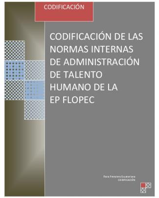 Normas Internas De Administración Del Talento Humano