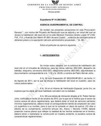 Procuracion General - Publicación De Dictámenes Procuración General