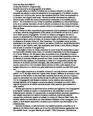 Carta Del Papa Juan Pablo Ii