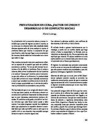Factor De Union Y Desarrollo O De Conflicto Social?
