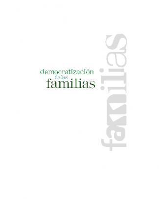 Democratización De Las Familias
