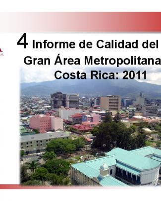 Presentación Del Cuarto Informe De Calidad Del Aire De La Gam 2011.