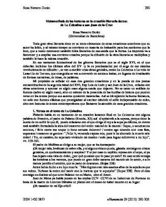 Mecanismos Del Enredo En Comedias De Francisco _____rojas Zorrilla