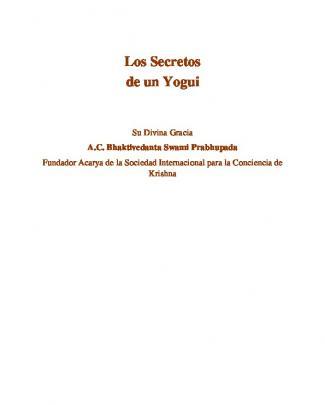 Los Secretos De Un Yogui