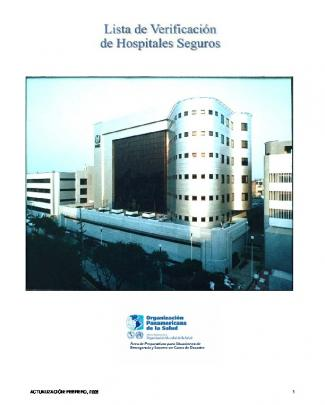 Lista De Verificación De Hospitales Seguros