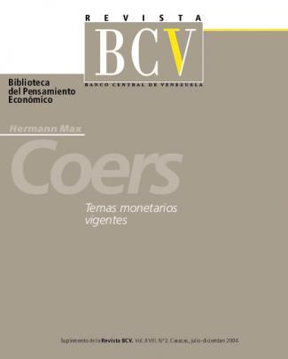 Revista Bcv. Suplemento Vol. Xviii. N° 2