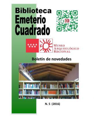 Boletín De Novedades - Comunidad De Madrid