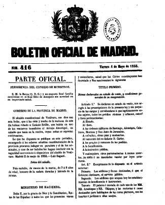 Parte Oficial. - Biblioteca Digital De La Comunidad De Madrid