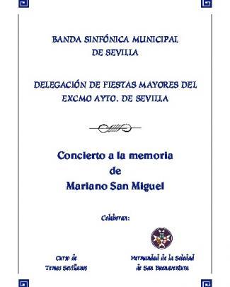 Programa Mariano S Miguel