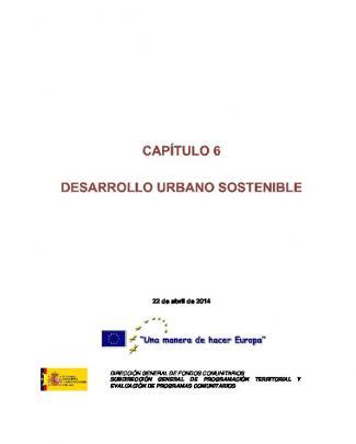 Capitulo 6 - Desarrollo Urbano Sostenible