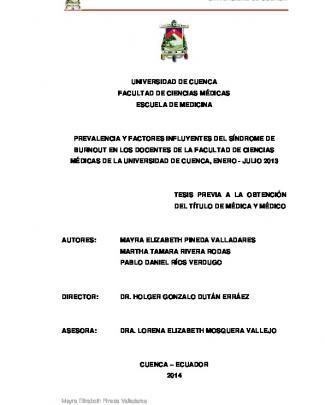 Tesis (25) - Repositorio Digital De La Universidad De Cuenca