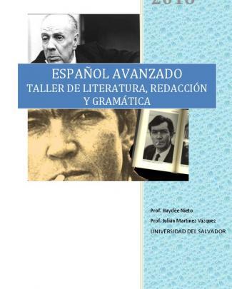 Taller De Literatura, Redacción Y Gramática En Base A Textos De