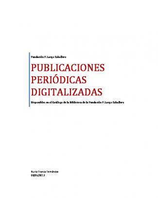 Publicaciones Periódicas Digitalizadas