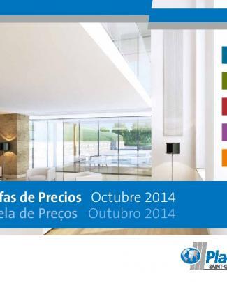 Tarifas De Precios Octubre 2014 Tabela De Preços Outubro