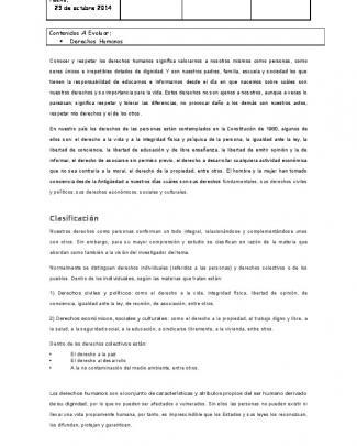 Clasificación 1 - Colegio Monte De Asís