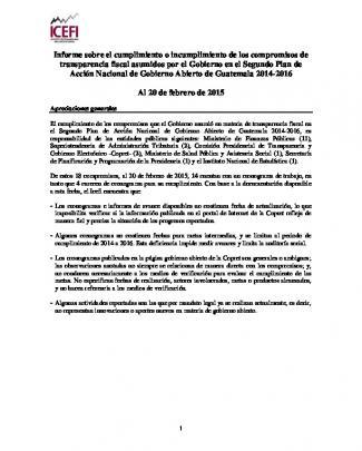 Segundo Plan De Acción Nacional De Gobierno Abierto