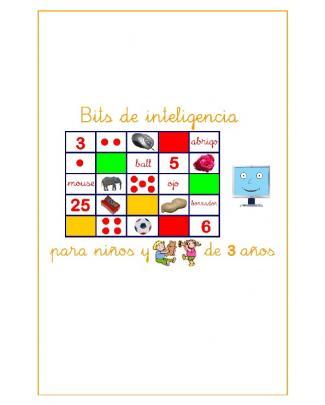 Bits De Inteligencia Para Niños Y Niñas De 3 Años En