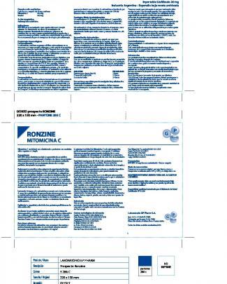 Prospecto Ronzine - D (septiembre)