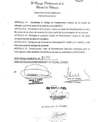 2127 - Concejo Deliberante De Ushuaia