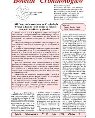 Artículo 5/1998, Septiembre (nº36)