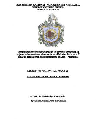 Universidad Nacional Autonoma De Nicaragua