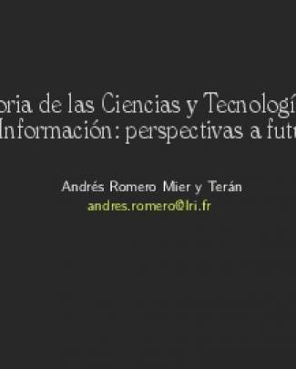 Historia De Las Ciencias Y Tecnologías De La Información