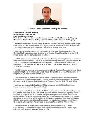 Coronel César Fernando Rodríguez Tomeo