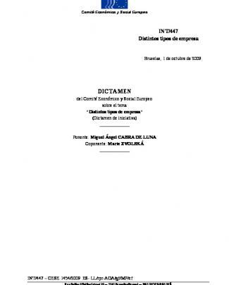 Distintos Tipos De Empresas - Observatorio Español De La Economía